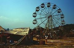 Muang Xai, public party (blauepics) Tags: southeast asia südostasien laos lao muang xai city stadt square platz fest party public öffentlich riesenrad wheel fun spas dirt dreck poverty armut fair