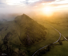 The dragons back (Alan Short UK) Tags: peak district mavic pro alan short sunrise spectacular misty uk landscape colour