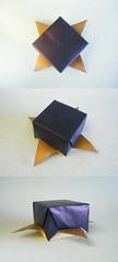 Caja Star 2000 - José Meeusen (Rui.Roda) Tags: origami papiroflexia papierfalten box boîte caixa estrela estrella étoile caja star 2000 josé meeusen