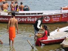varanasi 2019 (gerben more) Tags: varanasi ganges ganga river people boats water india