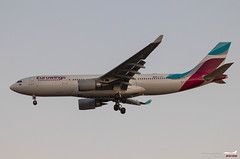 Airbus A330-203 Eurowings D-AXGB (Florian Roussel) Tags: airbus a330203 eurowings daxgb a330 a330200 a332 bordeaux