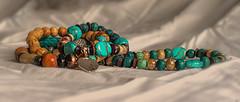 i love turquoise (Redheadwondering) Tags: sonyα7ii 120picturesin2020 autochinon50mmf14kmount manualfocus 9banglesorbracelets 9 bangles bracelets beads turquoise stilllife