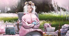 Soft Days (meriluu17) Tags: fameshed glamaffair belleepoque monso lode soft pink pinkish pastel people portrait bunny pet animal rabbit cute piggy piglet day sweet aviglam