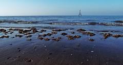 """A"" (Chris Goodacre) Tags: eastcoast hunstanton chrisg35mm sea olympusstylus1 photoscape"