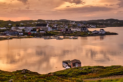 twllingate in the golden hour (-liyen-) Tags: newfoundland canada goldenhour twillingate harbour reflection water ocean atlantic summer fujixt2 20190804dscf2371 explore mpt772 matchpointwinner