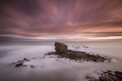 264 (ianbrodie1) Tags: longexposure charlies garden sea seaton sluice northumberland 15stop seascape clouds water coast coastline seastack rocks