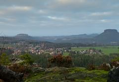 Aussicht - noch ohne Sonne (isajachevalier) Tags: landschaft sächsischeschweiz elbsandsteingebirge sachsen panasonicdmcfz150