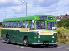 370 XHO370 (PD3.) Tags: bus buses hampshire hants england uk gosport lee solent stokes bay station fareham provincial society preserved vintage coach seafront sea front aldershot district aec relilance weymann 370 xho370 xho