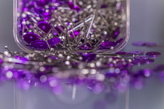 Macro Mondays (photobiene) Tags: jewellery bokeh stillleben color paletten violett licht macromondays stilllife glas macro farbe violet linie schmuck pallets contained makro canon mondays
