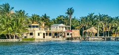 Coast (ssokolowski) Tags: belize cayecaulker caribbean caribbeansea caribbeanvibes coast palmtrees paradise island paradiseisland houses woodenhouses