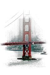South Tower (Bob_Wall) Tags: bobwall btwgf abstract playtime goldengate bridge ggb lines urban sanfrancisco fog