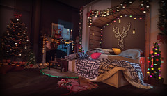 {58} Silent Night (flyer-clowes) Tags: halfdeer junk food kraftwork buildworksdecor 22769 florix your dreams tarte astralia ks access