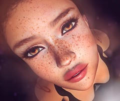 Freckles (Silentraindrops.com) Tags: laq plastik secondlife sl virtualworld avatar freckles