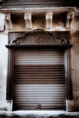 Cafè Palazz (vale0065) Tags: brown bruin decay verval cafe café rolluik pallace paleis malta island eiland valetta valletta valleta city stad capitol hoofdstad bar