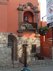 """La Bodeja del Monje"" Restaurant Bar (Lewitus) Tags: barranco houses color lima peruy"