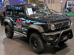 Jimny (Schwanzus_Longus) Tags: essen motorshow german germany japan japanese modern car vehicle offroad offroader 4x4 awd 4wd suzuki jimny