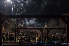 Surreal new year sights 2020 (gavin.mccrory) Tags: dark night light shadow late people new year celebrations contrasts fireworks lit nightime darkness nikon dslr d7500 nightscape oslo norway city norge