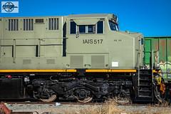IAIS 517 - GE ES44AC at Kansas City, MO (Mo-Pump) Tags: train railroad railfan railroader railway railroading railroads railfanrailroader locomotive