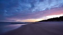Sunrise on the beach (radkuch.13) Tags: sony sonyalpha a7rii sunrise beach sea baltic sand water 24mm