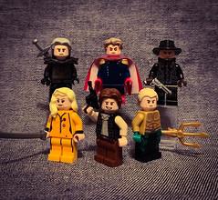 Random Figbarf #7 (Snowy Bricks) Tags: 7 lego minifigures killbill aquaman theboys starwars witcher netflix amazonprime hbo