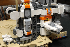Microspace Arcology--Backside (Blake Foster) Tags: lego afol moc space microspace arcology blake foster lego:theme=space lego:scale=micro
