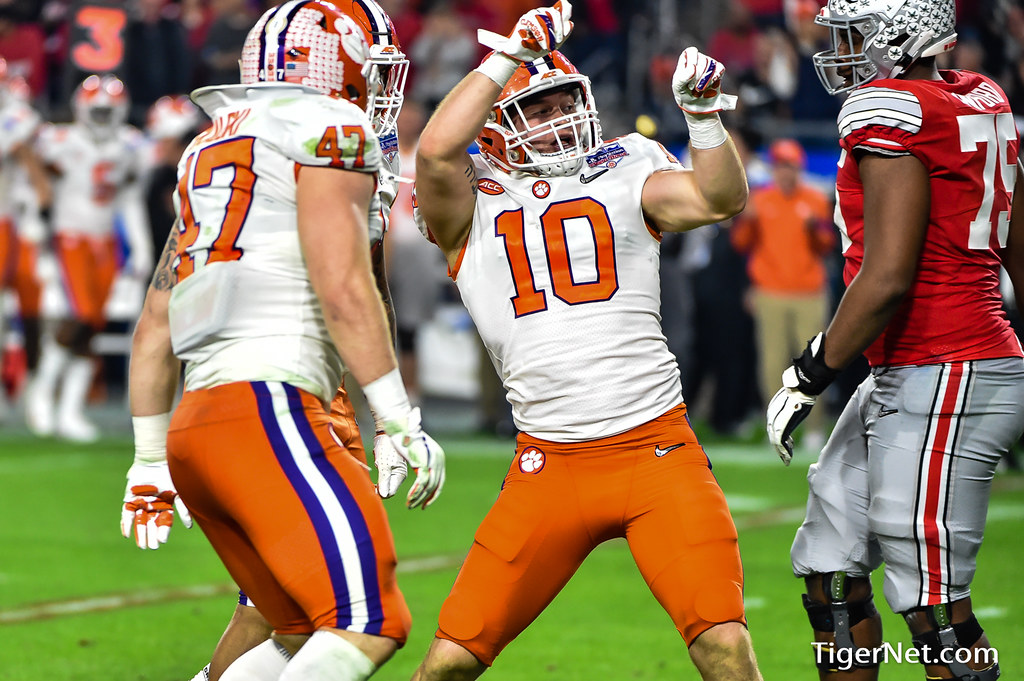 Clemson Photos: Baylon  Spector, 2019, Football, ohiostate