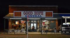 Good Hope General Store (davidwilliamreed) Tags: good hope general store goodhopega waltoncounty homemadebiscuits gas oil bait tackle grocery snacks barbq stew nightshot afterdark flash