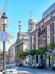 St Lawrence Hall - Toronto Ontario - Canada - Old Gas Light (Onasill ~ Bill Badzo - 68 Million Views) Tags: toronto ontario building heritage glass by architecture modern downtown steel cupola surrounded canada tower clock public st french hall lawrence thomas flag victorian style meeting landmark canadian historic historical kingstreet oldtown renaissance cabbagetown revival on mansard donwtown stsaint jarvisstreet heritagecanada onasill lamp gas