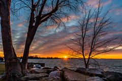 Harbour Sunset (Neil Cornwall) Tags: 2019 belleriver canada december essexcounty ontario sunset