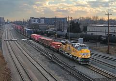 EMD SD70ACeT-4 (jamesbelmont) Tags: unionpacific ilxah container intermodal saltlakecity utah 6thnorth emd sd70acet4 train railroad railway locomotive