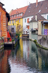 Colmar, Alsace, France (Dumby) Tags: landscape colmar france alsace urban river outdoor water travel city