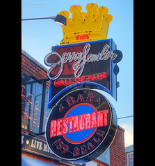 "Jerry ""The King"" Lawler's Hall of Fame Restaurant sign - Beale Street - Memphis, Tennessee (J.L. Ramsaur Photography) Tags: jlrphotography nikond7200 photography memphistn westtennessee shelbycounty tennessee 2019 engineerswithcameras barbecuedporkcapitaloftheworld photographyforgod thesouth southernphotography screamofthephotographer ibeauty jlramsaurphotography photograph pic memphis tennesseephotographer memphistennessee homeoftheblues bluffcity birthplaceofrocknroll jerrythekinglawlershalloffamerestaurantsign jerrythekinglawlershalloffamerestaurant lawlershalloffamerestaurant jerrylawlershalloffamerestaurant jerrylawler sign signage it'sasign signssigns iseeasign signcity neonsign tennesseehdr hdr worldhdr hdraddicted bracketed photomatix hdrphotomatix hdrvillage hdrworlds hdrimaging hdrrighthererightnow bealestreet bealest"