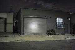 Gray garage (ADMurr) Tags: la eastside night leica m240 35mm zeiss zm m0005219