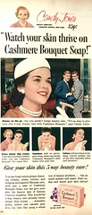 Candy Jones Will Help You Wash Your Face (saltycotton) Tags: beauty soap pearls vintage magazine advertisement ad 1956 1950s