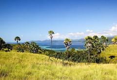 A landscape of Flores island near Komodo, Indonesia