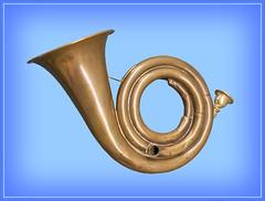 Posthorn (Runemaker) Tags: music instrument horn musik deutschesmuseum posthorn germany munich münchen bayern deutschland bavaria germanmuseum