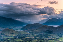 A Hard Rain DSC_6150 (BlueberryAsh) Tags: paradise queenstown sunset newzealand lake storm mountains rain clouds landscape coronetpeak d750nikon stormscloudssunsetsunrise wakatipusnoenikon weather 24120