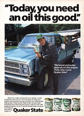1983 Quaker State Motor Oil Dodge Pick-Up Truck Chrysler USA Original Magazine Advertisement (Darren Marlow) Tags: 1 3 8 9 19 83 1983 q quaker s state o oil c car a automobiles v vehicle t truck b bus tractor 80s