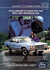 1983 Ford LTD Crown Victoria Sedan USA Original Magazine Advertisement (Darren Marlow) Tags: 1 3 8 9 19 83 1983 f ford l t d ltd c crown v victoria s sedan car cool collectible collectors classic a automobile vehicle u us usa united states american america 80s