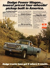 1977 Dodge Pick-Up Truck Chrysler USA Original Magazine Advertisement (Darren Marlow) Tags: 1 7 9 19 77 1977 d dodge p pick u up t truck c chrysler car cool collectible collectors classic a automobile v vehicle m mopar us usa united s states american america 70s