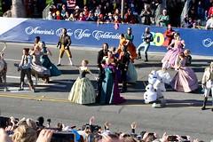 2020 Pasadena Rose Parade Frozen the Musical