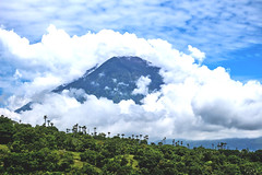 Gunung Agung active volcano in Bali, Indonesia. (www.tiket2.com) Tags: asia indonesia indo travel travelphoto traveler travelphotography travelpics photo southasia exotic tropical sunny holiday adventure gunung agung volcano mountain smoke smoking crater lava danger bali balinese amed landscape