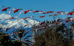 They are proud of their country (werner boehm *) Tags: wernerboehm türkei flaggen flags landscape taurus