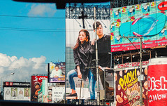 Giant People [explore] (risingthermals) Tags: philippines pilipinas pinas billboards nlex highway display images southeast asia tropics tropical country woman man models fashion products commercial advertisement marketing
