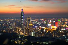 2020.01.05 台北 / 九五峰 (MaxChu) Tags: taiwan taipei taipei101 台北 台灣 台北101 nightview 移軸鏡 tilt–shift