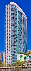Icon Las Olas, 500 East Las Olas Boulevard, Fort Lauderdale, Florida, USA / Built: 2017 / Height: 455 / Floors: 44 / Architect: Sieger Suarez Architects / Architectural Style: Modernism (Photographer South Florida) Tags: fortlauderdale ftlauderdale city cityscape urban downtown skyline browardcounty southflorida density centralbusinessdistrict skyscraper building architecture commercialproperty cosmopolitan metro metropolitan metropolis sunshinestate realestate veniceofamerica newriver lauderdalebeach landscape camping trees grass fitnesstrails fishing pavedpathways iconlasolas 500eastlasolasboulevard florida usa built2017 height455 floors44 siegersuarezarchitects modernism