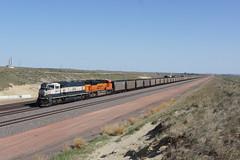 BNSF 9512 Bill/Wyoming (Gridboy56) Tags: usa america wyoming bill wagons coal cargo railways railroad railfreight trains train locomotive locomotives bnsf 9512 8787 9239 9056 billyard freight freightcars
