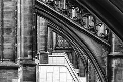 Cologne Cathedral Detail (WilliamND4) Tags: nikon d810 cathedral architecture cologne blackandwhite