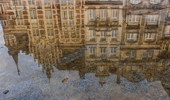 Brussels mirrored (Mauro Hilário) Tags: city brussels belgium artistic perspective reflection water mirror buildings creative beautiful travel architecture