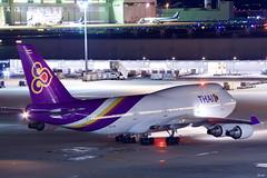 ボーイング747-400 Boeing 747-400 (ELCAN KE-7A) Tags: 日本 japan 東京 tokyo 羽田 haneda 国際 空港 international airport 飛行機 航空機 airplane airline 国際線 ターミナル terminal タイ国際航空 thai airways tg tha ボーイング boeing b747 747 400 ペンタックス pentax k3ⅱ 2019